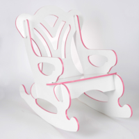 Prado Sallanan Çocuk Sandalyesi Sallanan Koltuk Pembe