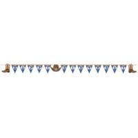 Alins Kovboy Partisi Harf Afiş 360 Cm Uzunluğunda