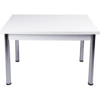 Evistro Yandan Açılır Büyüyen Mutfak Masası Beyaz