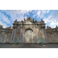 Rengo - İstanbul - Dolmabahçe Sarayı Kapısı Kanvas Tablo (0118)