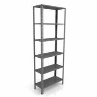 Weblonya Metal Raf Çelik Raf Sistemi Kitaplık Arşiv Rafı