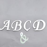 Tahtakale Toptancısı Alfabe Aynalı Pleksi 4 Cm - Flexi Harf (&)
