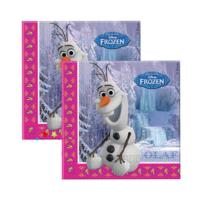 Tahtakale Toptancısı Kağıt Peçete Frozen Olaf 33 x 33 Cm (20 Adet)