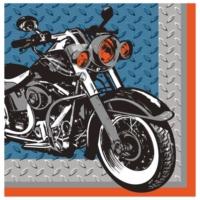 Alins Motosiklet Partisi Peçete 33X33 Cm 16 Adet