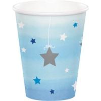 Alins One Little 1 Yaş Parti Bardağı 200 Ml 8 Adet ( Mavi )