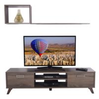 Ankara Mobilya Deka Tv Sehpası Ceviz -R