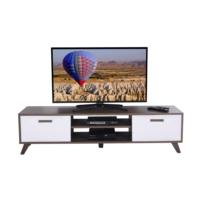 Ankara Mobilya Deka Tv Sehpası Ceviz Beyaz