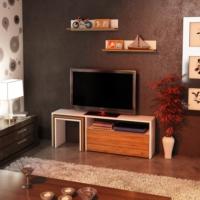 Sanal Mobilya Power Raflı Zigonlu Tv Ünitesi