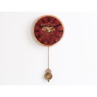 Madame Coco Sarkaçlı Duvar Saati Cam 16 x 16Cm