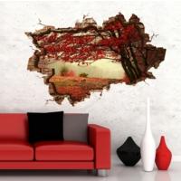 3D Art Sonbahar 2 – 3D Sticker 70x45 cm