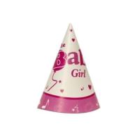 Partypark Baby Shower Kız Parti Şapkası (8 Ad)