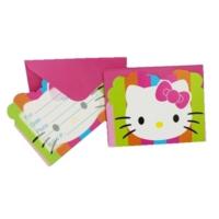Partypark Hello Kitty Doğum Günü Davetiye (8 Adet)