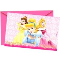 Partypark Prensesler Doğum Günü Davetiye (8 Adet)
