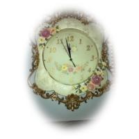 Taşlı Polyester Döküm Saat