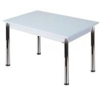 Depolife Mutfak Salon Balkon Yemek Masası Sabit Ayaklı 70X110 Cm