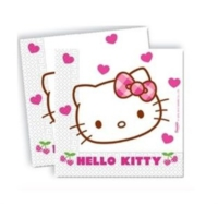 Sweetsorcery Hello Kitty Modeli Peçete (20 Adet)