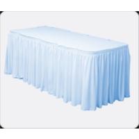 Sweetsorcery Mavi Masa Örtüsü Eteği