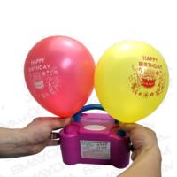 Smayda Cift Çıkışlı Elektrikli Balon Şişirme Makinesi - Electric Balloon Pump