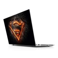 Sticker Masters Superman Flame Logo 3D Laptop Sticker