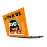 Sticker Masters I Am A Dj Laptop Sticker