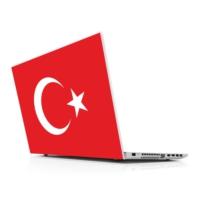 Sticker Masters Türk Bayrağı Laptop Sticker