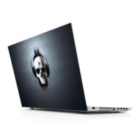 Sticker Masters Skull Music Laptop Sticker