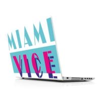 Sticker Masters Miami Vice Laptop Sticker