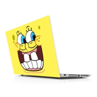 Sticker Masters Sponge Bob Right Side Laptop Sticker