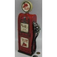 Tüterler Benzin Pompası Kumbara Kırmızı