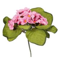 Loveq Yapay Çiçek Menekşe Buket 20 Cm Drn-63900