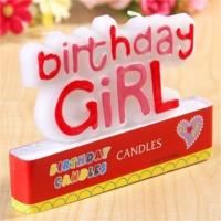 Partypark Birthday Girl Doğum Günü Mumu