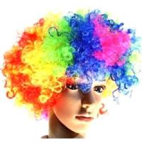 Partypark Peruk Bonus Saç Karışık Renkli