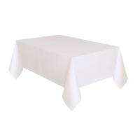 Partypark Plastik Masa Örtüsü Beyaz