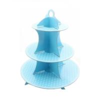 Partypark Mavi Puanlı Kek Standı