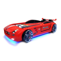 Fantastic Roadster Extreme Arabalı Yatak (Kırmızı)