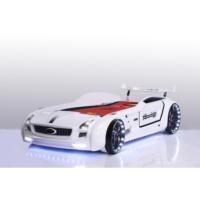 Fantastic Roadster Arabalı Yatak (Beyaz)