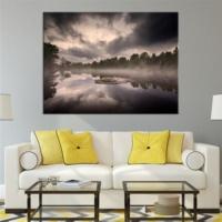 BuldumBuldum Mistik Nehir Kanvas Tablo
