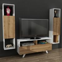 Dekorister Novella K344 Tv Ünitesi Beyaz/Ceviz