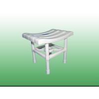 Çelik Ayna Plastik Banyo Taburesi Banyo Sandalyesi Beyaz Sandalye