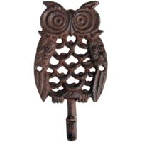 House2Home Antik Döküm Koleksiyon - Baykuş Askı