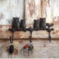 House2Home Antik Döküm Baykuş Askı