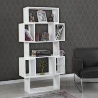 Pasific Home Box Kitaplık Parlak Beyaz