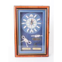 50bir Denizci Temalı Anahtarlık Askısı & Saat
