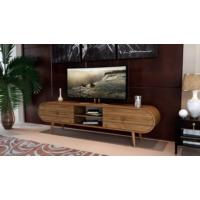 Sanal Mobilya Zigana Oval Çekmeceli Tv Bölmeli Tv Ünitesi Ceviz