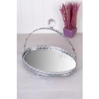 Queen's Kitchen Aynalı Gümüş Oval Kulplu Sunum