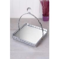 Queen's Kitchen Aynalı Gümüş Kare Kulplu Sunum