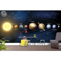 Art Wall Yapışkanlı Uzay Resimli Duvar Kağıdı