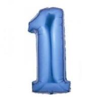 Partypark 1 Folyo Balon Mavi 70Cm
