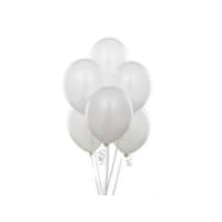TveT Balon 100 Adet - Beyaz