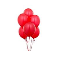 TveT Balon 100 Adet - Kırmızı